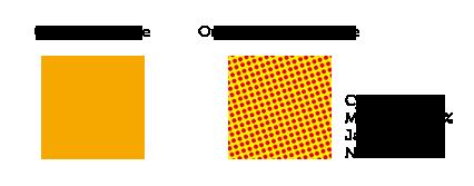 pantone ou quadrichromie